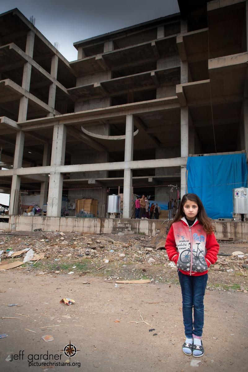 """Nora's """"home."""" Erbil, Iraq, 2017"""